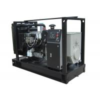 Buy cheap 4 Cylinder Open Type Diesel Generator 70kVA With Lovol Engine And Stamford Alternator product