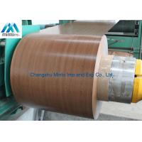 Buy cheap Embossed Pre Painted Galvanized Steel Coils Ppgi Coil DIN EN1032 ASTM A653 product