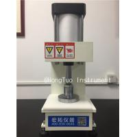 Buy cheap Pneumatic Sample Test Slicer / Automatic Plastic Sample Cutting Machine product
