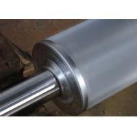 Quality Chrome Plated Anilox Rollers In Flexo Print Machinery Parts , Embossed Roller for sale