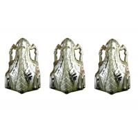 Buy cheap Coffin Decoration Casket Accessories Pale Gold Plastic PP Recycle Material product