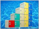 Buy cheap ABS Material Plastic Gym Lockers 2000 × 933 × 470mm For Sports Ground product