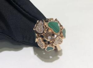 Buy cheap 18k gold diamond ring chopard happy diamonds ring brand s product