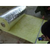 Buy cheap Glass wool with aluminium foil backing density 24kg/m3 1200*15000*50mm glasswool product