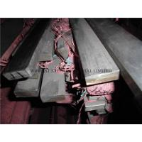 China Bright 410 Stainless Steel Flat Bar / SS Flat Bar Annealing Treatment on sale