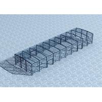 Eco - Friendly Steel Factory Metal Building DepotWide Span With Sandwich Panel
