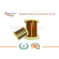 China Enamelled Manganin Resistance Wire for Precision Instrument , Enamelled Wire 0.018mm - 3.0mm on sale