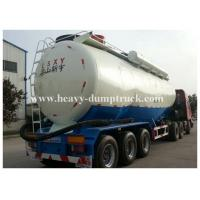 Buy cheap Stainless Steel / Aluminum 40cbm to 70cbm Tri axle cement tank trailer with 2 tool boxes product