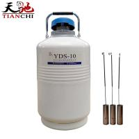 Buy cheap TIANCHI 10L liquid nitrogen cylinder YDS-10 in Lithuania product
