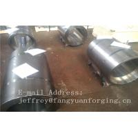 Buy cheap Normalized Forged metal sleeve Rough Turned ST52-3 S355J2G3 P355GH product