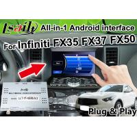 Buy cheap All-in-1 Android Auto Interface for Infiniti FX 35 FX37 FX50 Integration GPS Navigation , apple carplay ,Android auto product