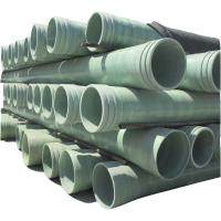 Buy cheap Glass fiber reinforce GRP pipe price product