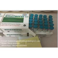 Quality Injectable Anabolic Steroids Freeze Dried 100iu/kit Somatropin in White for sale