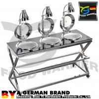 China Bottom Bearing Mobile Buffet Stations Compact Structure  Oil Proof Polishing Surface on sale