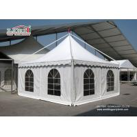 China Huge White Canopy Tent 10X10 , Outside Backyard Canopy Tents on sale