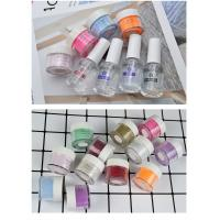 Buy cheap private label without lamp cure DIY nail salon nail dipping powder set 10g 15ml product