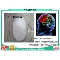 China Pharmaceutical Materials Nootropic Powder Phenibut For Sleep And Anxiety Relief on sale