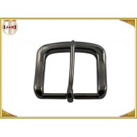 Buy cheap Die Casting Plating Metal Belt Buckle 40mm Inner Size Gunmetal Color product