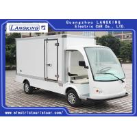 Buy cheap White Electric Delivery Van , 2 Person Golf Cart With MP3 Player Sound System product
