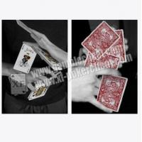 China AUTOBIKE No.1 Invisible Playing Cards / Paper Material Gambling Poker on sale