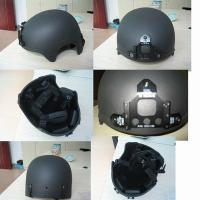 Buy cheap German-type Duty bullet proof helmet with face guard for protection product