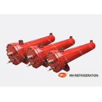 Buy cheap Shell & Tube Water Chiller Heat Exchanger , Shell And Tube Condenser For Cooling Industry product