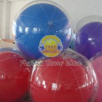Buy cheap Transparent Inflatable Advertising Inflatable Helium Balloon for Entertainment events product