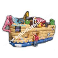 Buy cheap Hot sell Inflatable animal theme boat bouncer product
