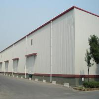 Buy cheap Q235 345B Workshop Steel Buildings / Steel Structure Warehouse With Drawings product
