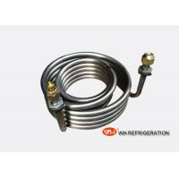 Buy cheap Seamless Stainless Steel Coil Heat Exchanger For Chemical Industry / Food Industry product