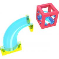 Buy cheap 3D Magnetic Building Blocks Set with Runing ball product