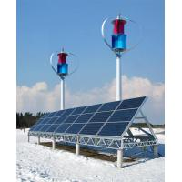 Quality Off-grid wind solar hybrid system with 600W wind turbine with mono silicon solar for sale