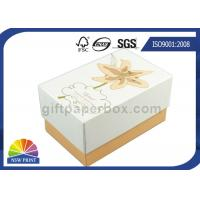 Buy cheap Imprint Gold Stamping Cardboard Gift Box Packaging Stylish Design Custom Shapes product