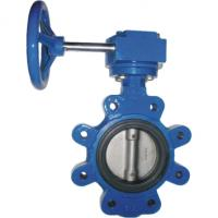 China Gear operator wafer butterfly valve series on sale