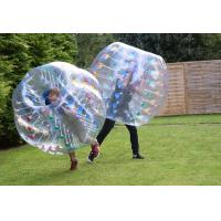 Buy cheap 2014 hot sell 1.5m buddy bumper ball for adult by 1.0mm PVC with EN15649 certificate product