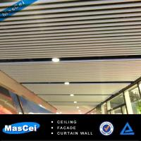 Buy cheap Aluminum Strip Ceiling/Baffle Ceiling/u Shape Ceiling/Linear ceiling product