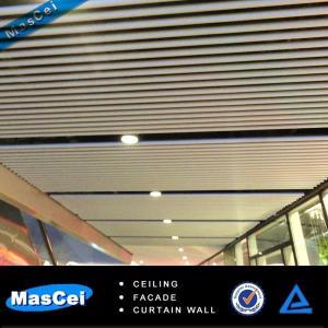 Buy cheap アルミニウム ストリップの天井/バッフルCeiling/uの形の天井/線形天井 product