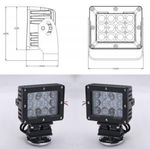 Buy cheap 60W Square Vehicle LED High Power Driving Lights 6500K 4800 Lumen 12V LED Work Light product