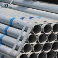 China Hollow Section Hot Dip Galvanized Steel Pipe Zinc Coated Heavy Duty For Gas Oil Pipeline on sale