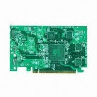 China Multi-layered PCB, 10-layer, FR4 and Glass Reinforced Epoxy Laminate Sheet on sale