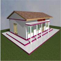 Buy cheap Light Frame Building Construction Prefabricated Steel Frame Hou Prefabricated Steel Houses product