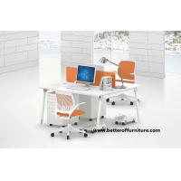 Buy cheap Modern open Staff Melamine top Two Person Workstations Office Desk product