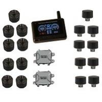 18 wheels 24h mornitor External Sensors Truck Tire Pressure Monitoring system FCC CE