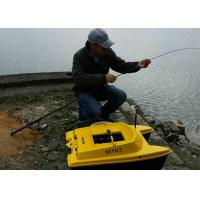 Buy cheap DEVC-303 yellow GPS fish finder catamaran bait boat 830*523*300 mm Size product