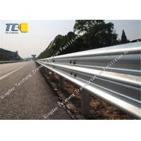 Buy cheap Wave Metal Road Safety Barriers Bridge Guardrail For High Speed Highways product