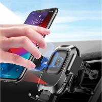 Buy cheap car vent phone holder  Automatic Clamping Wireless phone holder for car air vent product