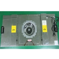 Buy cheap Stainless Steel Cabinet 0.8m/S 97pa H14 Fan Filter Unit product