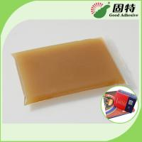 Buy cheap Amber Block Bookbinding Hot Melt Glue For  Book-Facing For Album And Advanced Notebook product