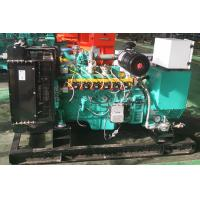 China 10kva - 125kva Natural Gas Generator Leroy Somer Alternator With Low Fuel Consumption on sale