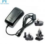 Buy cheap 5v 4a 20w Interchangeable Plug Power Adapter With US EU UK AU Plug product